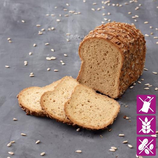 Pain aux graines de tournesol sans gluten