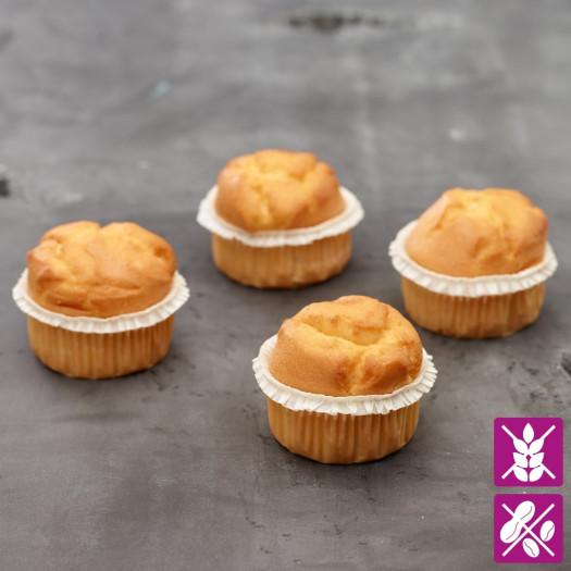 Muffins à la Vanille sans gluten