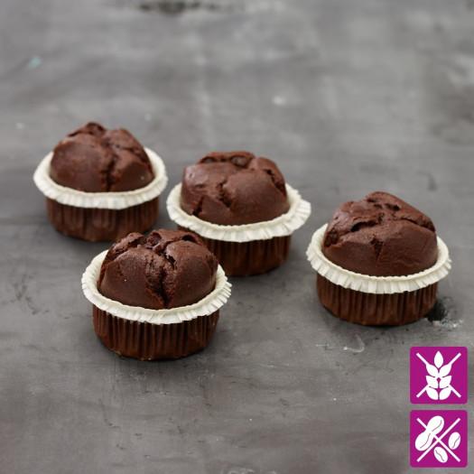 Muffins au chocolat sans gluten